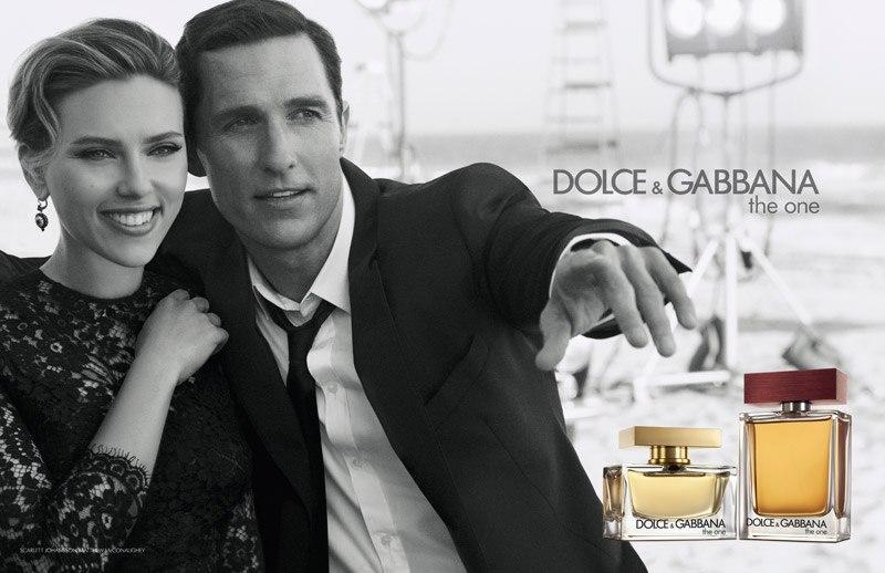 Скарлетт Йоханссон и Мэттью МакКонахи Dolce & Gabbana