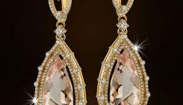 Как выбрать золотые серьги с бриллиантами