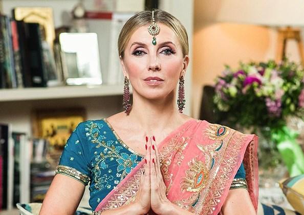 Светлана Бондарчук отпраздновала день рождения в стиле индийского диско с Рудковской, Шеляговой и другими